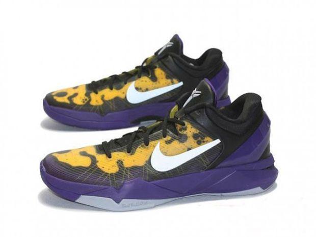 Nike Kobe VII (7)  Lakers Poison Dart Frog   fa161f62b