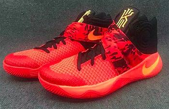 Nike Kyrie 2 Bright Crimson Release Date