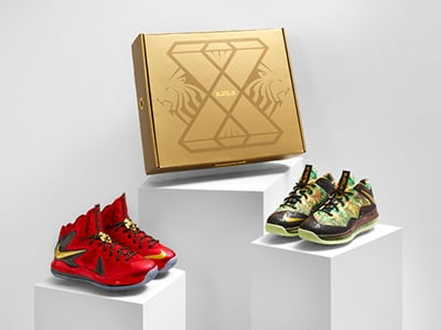 Nike LeBron 10 Championship Pack Release Date 2013