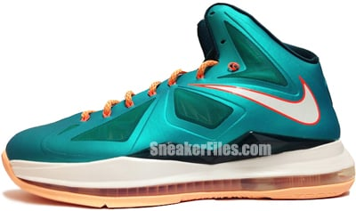 Nike LeBron 10 Miami Dolphins Setting Release Date 2013