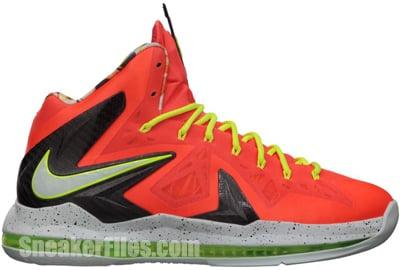 Nike LeBron 10 PS Elite Total Crimson Release Date 2013
