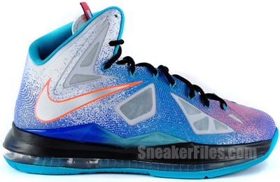 Nike LeBron 10 Pure Platinum May 2013 Release Date