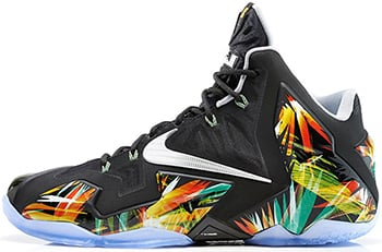 Nike LeBron 11 Everglades Release Date