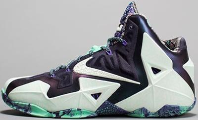 Nike LeBron 11 Gator King All Star Release Date 2014