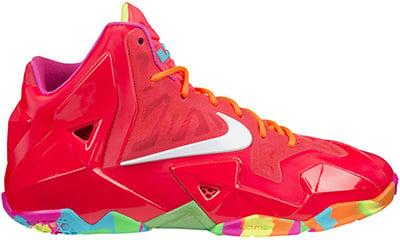 Nike LeBron 11 GS Fruity Pebbles Release Date 2014