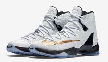 Nike LeBron 13 Elite Gold