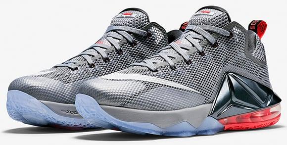 Nike LeBron 12 Low Hot Lava Release Date 2015