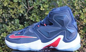 Nike LeBron 13 Midnight Navy Release