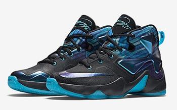 Nike LeBron 13 Summit Lake Hornets
