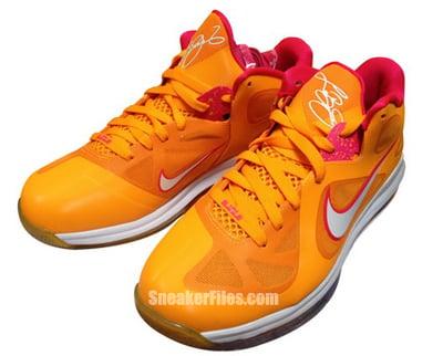 Nike LeBron 9 Low Floridians Vivid Orange Cherry Release Date