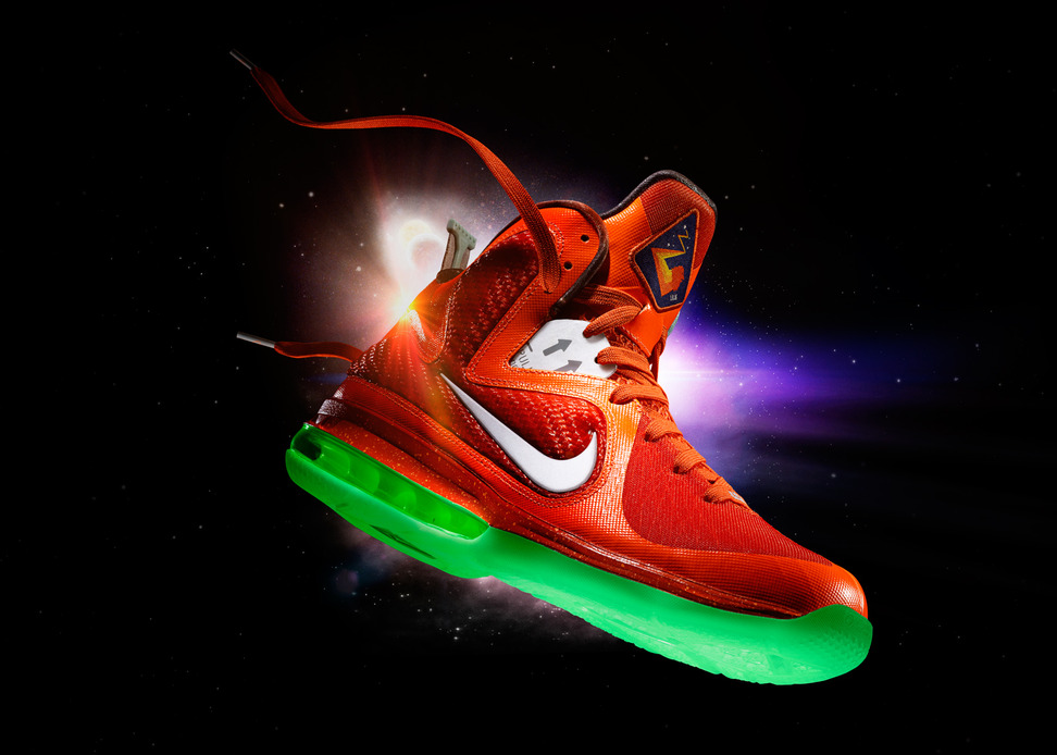 nike lebron 9 allstar game official images sneakerfiles