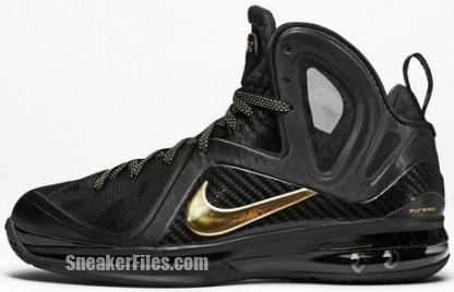 Nike LeBron 9 PS Elite Black Metallic Gold Release Date 2012