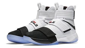 Nike LeBron Soldier 10 Black Toe