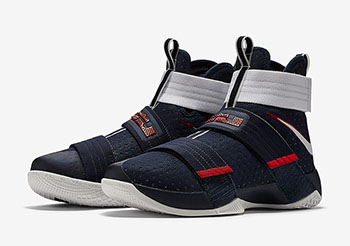 85ac37a82a8bc Nike LeBron Soldier 10 USA Release