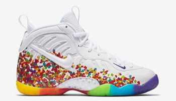 Nike Little Posite Pro Fruity Pebbles