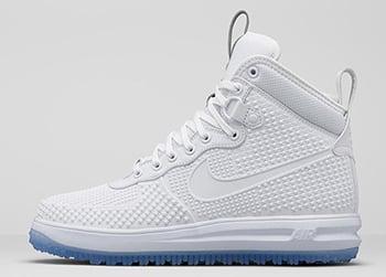 Nike Lunar Force 1 Duckboot White Release Date
