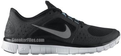 Nike N7 Free Run 3 Black Silver White Turquoise Release Date 2012