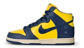 Nike Retro Dunk High Michigan Release Date