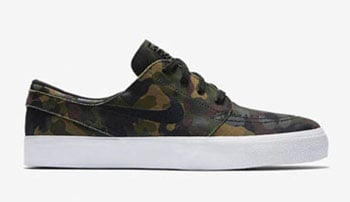 Nike SB Zoom Stefan Janoski Camo Release Date