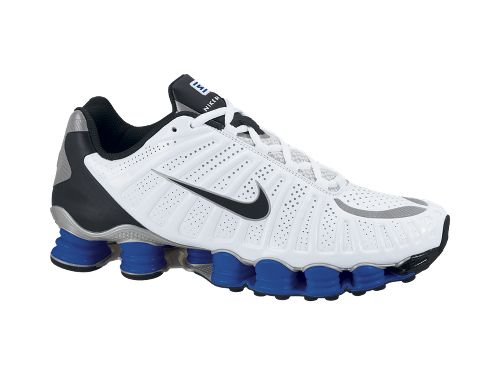 Nike Shox TLX White/Black-Old Royal-Metallic Silver - Now Available