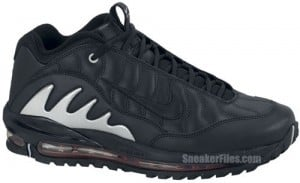 f2c70a80c60 Nike Total Griffey Max 99 Black Grey Red Release Date