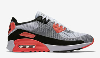 Nike WMNS Air Max 90 Ultra 2.0 Flyknit Bright Crimson