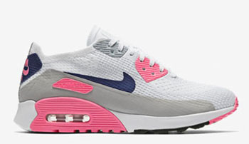 Nike WMNS Air Max 90 Ultra 2.0 Flyknit Laser Pink