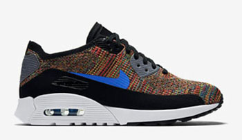 Nike WMNS Air Max 90 Ultra 2.0 Flyknit Multcolor Royal