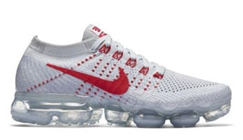Nike WMNS Air VaporMax Pure Platinum Red