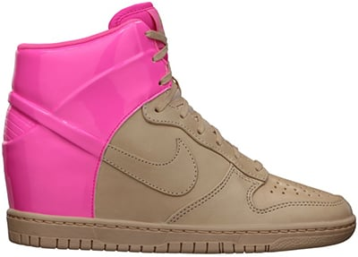 Nike Womens Dunk Sky High Pink Flash Release Date 2013