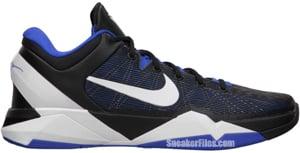 Nike Zoom Kobe VII Treasure Blue White Black Release Date