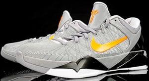 Nike Kobe VII Wolf Grey Orange Black White Release Date
