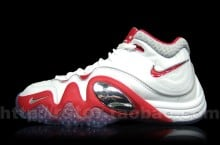 Nike Zoom Uptempo V White/Red-Grey