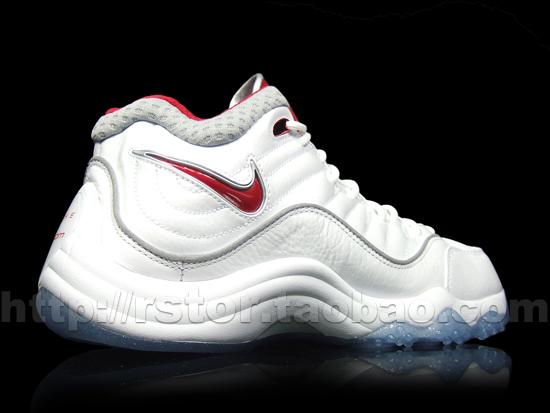 Nike Zoom Uptempo V White/Red-Grey