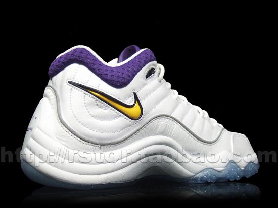 Nike Zoom Uptempo V White/Purple-Yellow