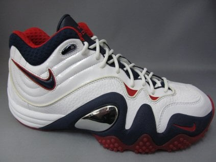 Nike Zoom Uptempo V White/Navy-Red