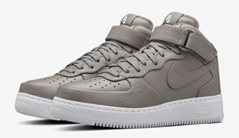 NikeLab Air Force 1 Mid Light Charcoal