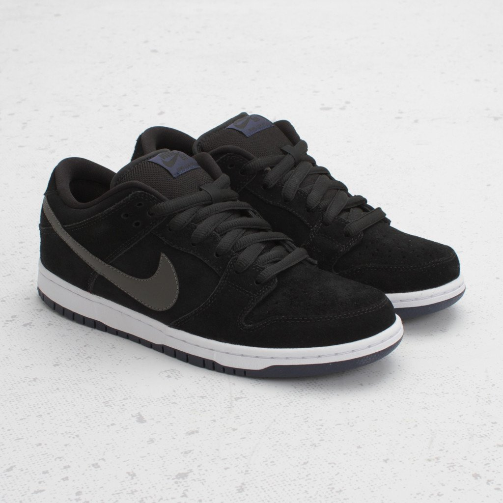online store 85c13 6ac7a Nike SB Dunk Low  Black Midnight Fog  - Now Available