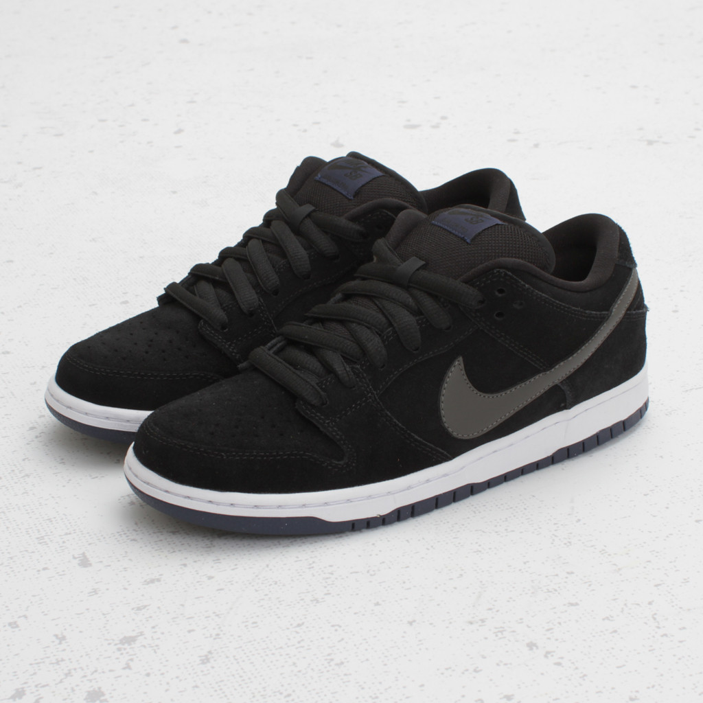 Nike SB Dunk Low 'Black/Midnight Fog' - Now Available