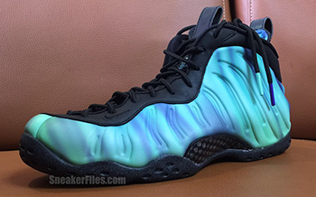 Northern Lights Nike Foamposite One