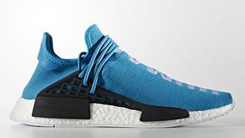 Pharrell adidas NMD HU Human Being Shale Blue