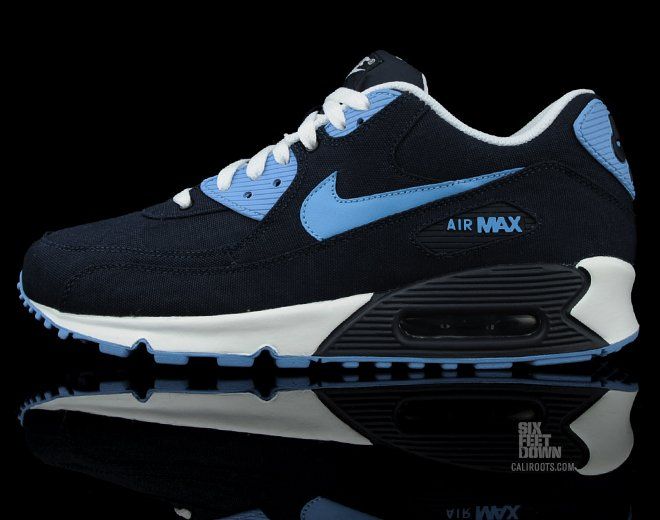 Nike Air Max 90 'Obsidian Canvas' - Now Available