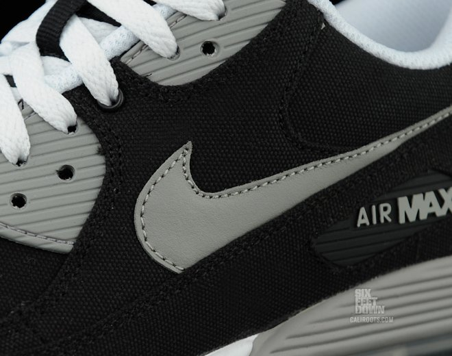 Nike Air Max 90 'Black Canvas' - Now Available