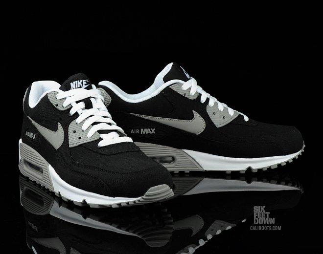 Nike Air Max 90 'Black Canvas' Now Available | SneakerFiles