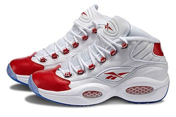 Reebok Question Mid OG White Red