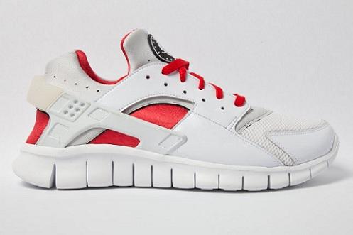 Release Reminder: Nike Huarache Free 2012 'White/Red'