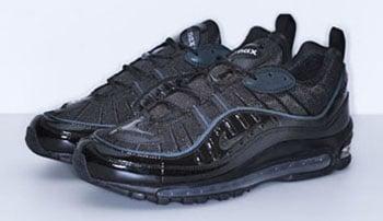 Supreme Nike Air Max 98 Black Release Date