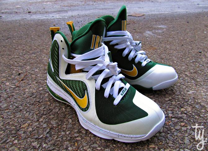 Nike LeBron 9 SVSM 'Home' - New Images
