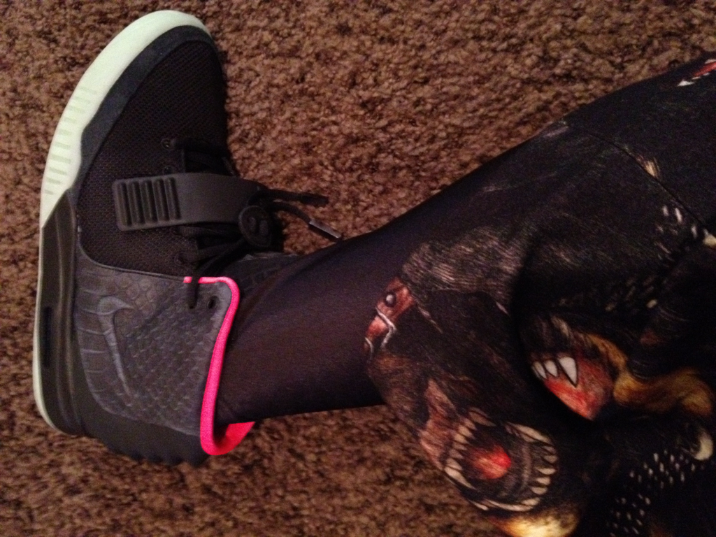 Nike Air Yeezy 2  Black Pink  - New Image  3953128c8f