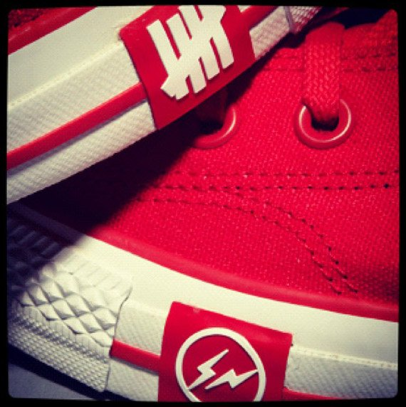 Undefeated x fragment design x Converse - First Look